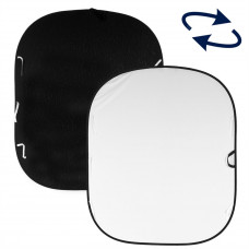 Фон складной Lastolite Plain Collapsible Reversible 1.8 x 2.1m Black/White, арт.LL LB5921