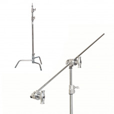 "Си-стенд с грипом Kupo CS-40MK 40"" Sliding Leg Kit (Stand, 2.5"" Grip Head & 40"" Grip Arm) - Silver, арт.CS-40MK"