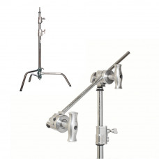 "Си-стенд с грипом Kupo CT-20MK 20"" Master C-Stand w/Turtle Base Kit (Stand, 2.5"" Grip Head & 20"" Grip Arm) - Silver, арт.CT-20MK"