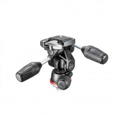Трехосная штативная головка Manfrotto MH804-3W 3 Way Head With RC2 in Adapto w/ Retractable Levers, арт.MH804-3W