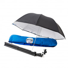 Фотозонт Lastolite 39'' Umbrella Kit All-In-One, Stand. LockTiltHead, Stand, Bag, арт.LU2474F