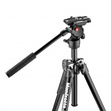 Штатив с видеоголовкой Manfrotto MK290LTA3-V 290 tripod with befree live fluid video head, арт.MK290LTA3-V