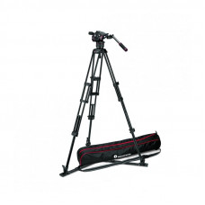 Штатив Manfrotto MVKN8TWING Nitrotech N8 Pro Video Tripod Kit, арт.MVKN8TWING