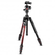 Штатив Manfrotto MKBFRTA4RD-BH Befree Advanced Aluminum Travel Tripod twist red, арт.MKBFRTA4RD-BH