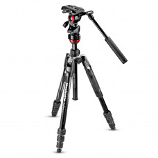 Штатив с видеоголовкой Manfrotto Befree live Aluminium tripod twist, video head, арт.MVKBFRT-LIVE